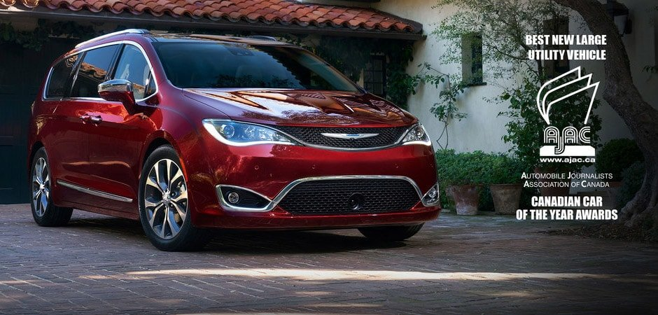 Find the 2018 Chrysler Pacifica Hybrid at Eastside Dodge in Calgary, AB