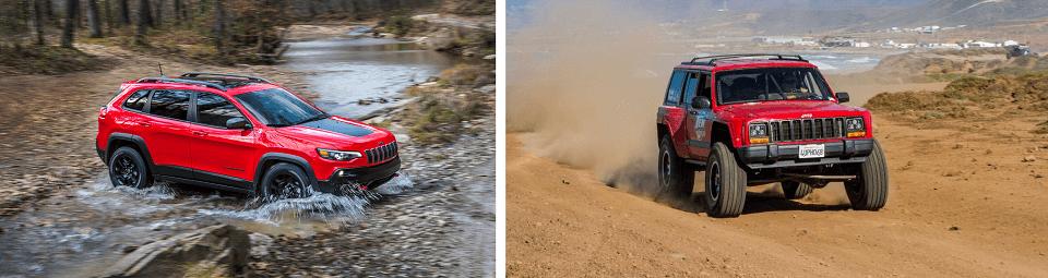 Jeep Cherokee Old vs New