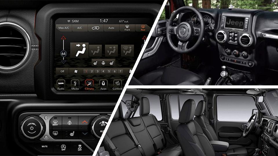 Jeep Wrangler 2020 Interior