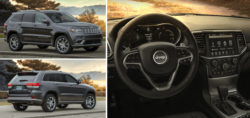2020 Grand Cherokee interior and exterior design