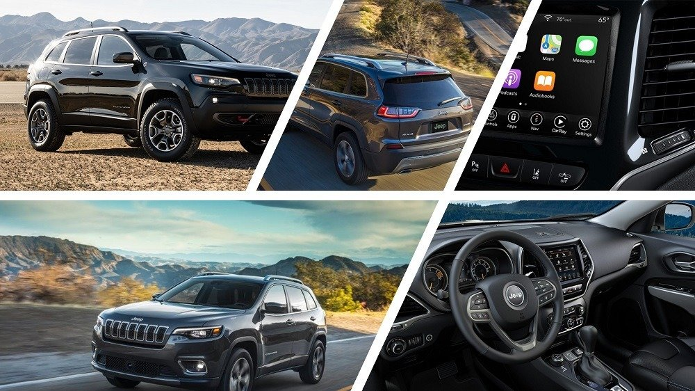 2020 Jeep Cherokee interior and exterior design